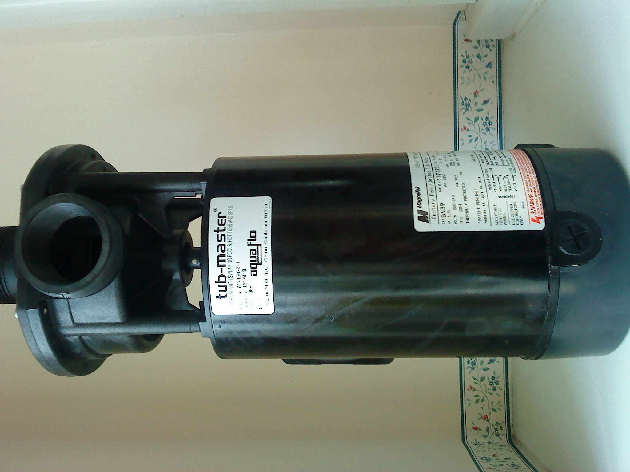 1081 pool motor lookup beforebuying for Century lasar pool spa motor